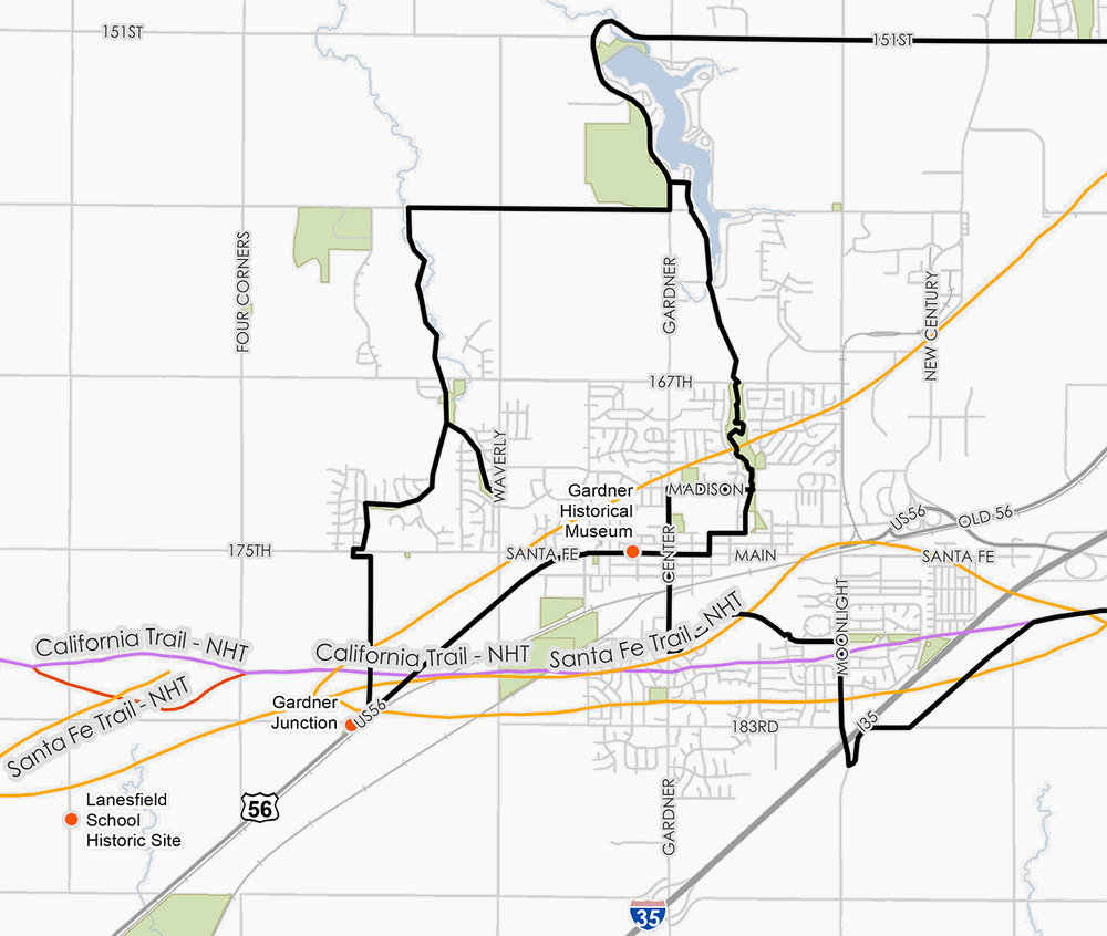 Kansas City Metro 3-Trails National Historic Trail Plan