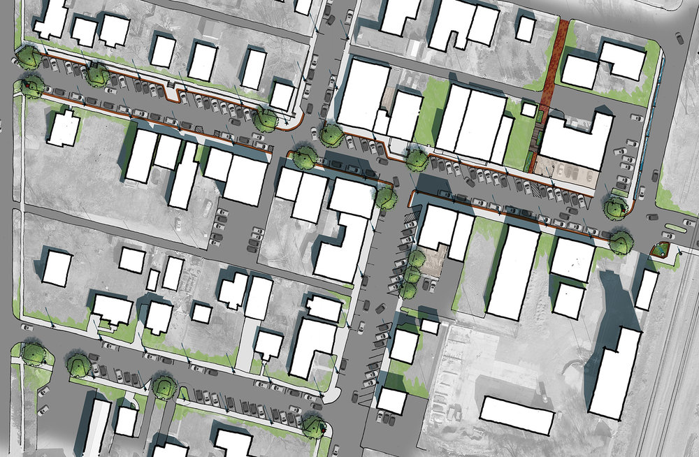 Multi-Modal Planning& Streetscapes - We have worked with communities of various sizes to understand the needs of their bus systems, sidewalk and bike paths, and overall access with multi-modal transportation. Healthy community design starts with providing access to work, school, healthcare, recreation, and all parts of our daily lives.