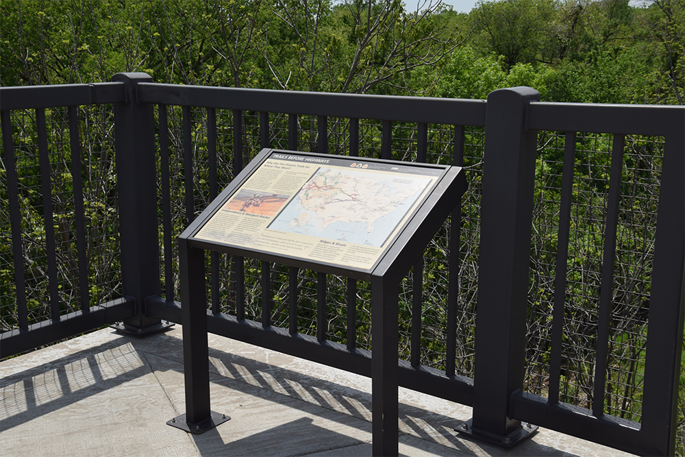 National Park Service 3-Trails Interpretive Signs