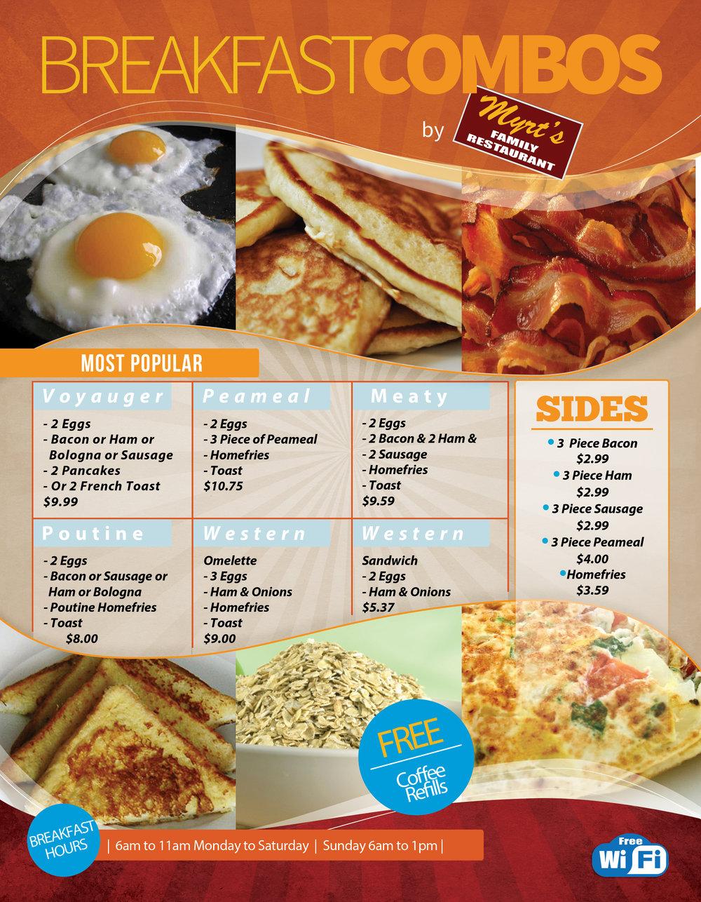 Mattawa breakfast Myrts