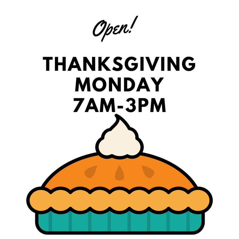 Myrts Thanksgiving Hours