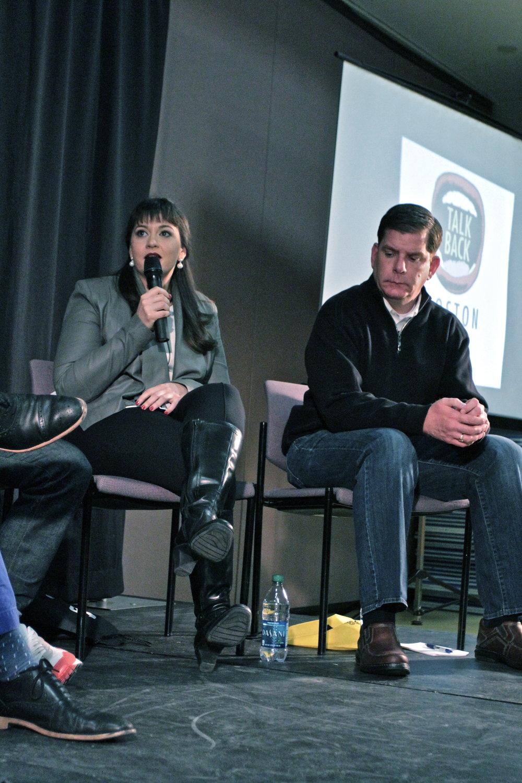 Eileen Riestra Talk Back Boston
