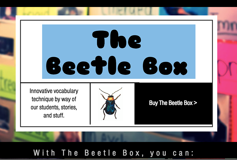 The Beetle Box: An innovative support for teaching English and English as a Second or Third Language