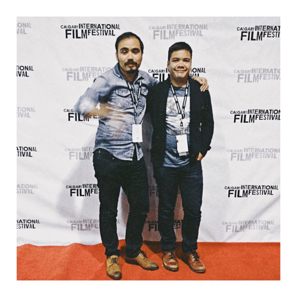Timothy and Paul at CIFF.