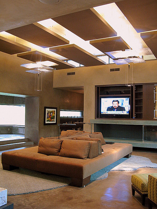 Lighting solutions for high ceilings randall whitehead Tall ceilings interior design