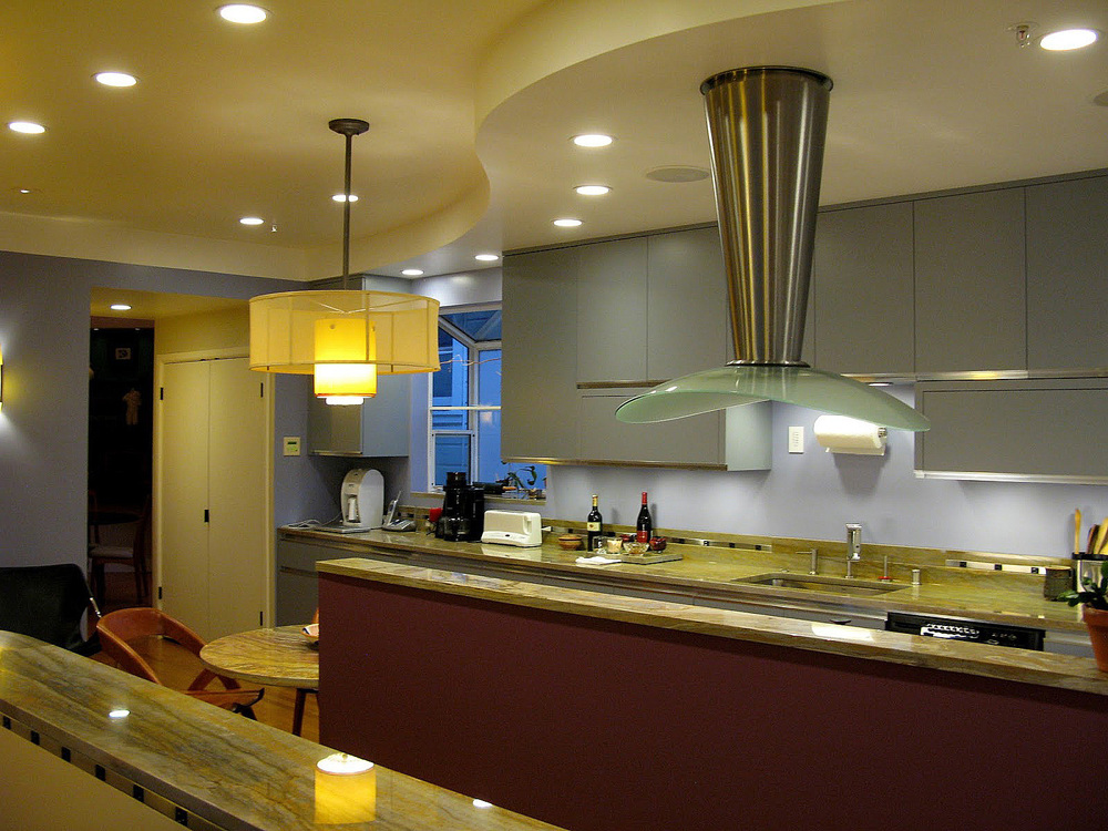 Kitchens The Heart Of The Home Randall Whitehead - Kitchen halogen ceiling lights