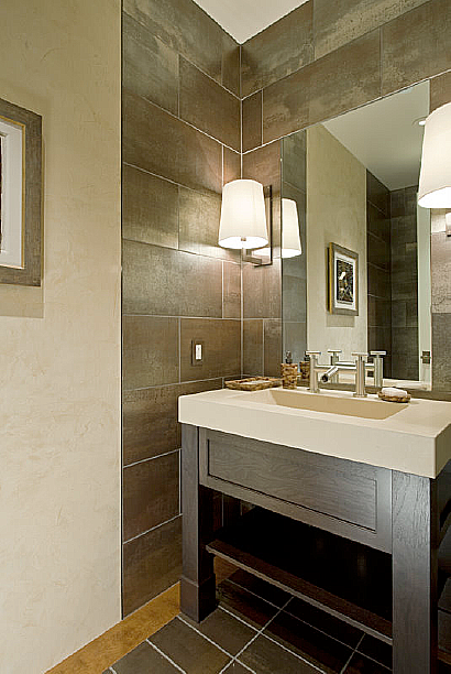 A Checklist for Bathroom & Powder Room Lighting — Randall Whitehead