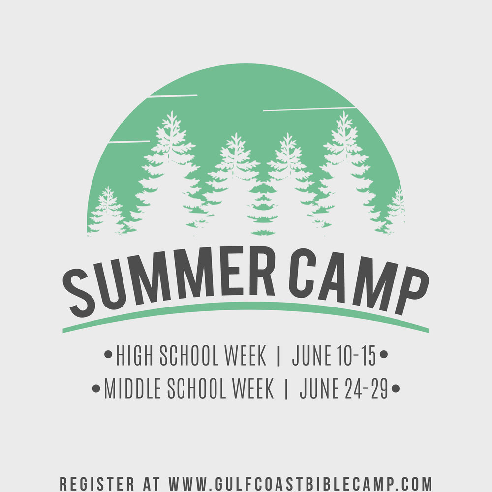 Register for Summer Camp - Register by May 15th to save $20 in registration fees