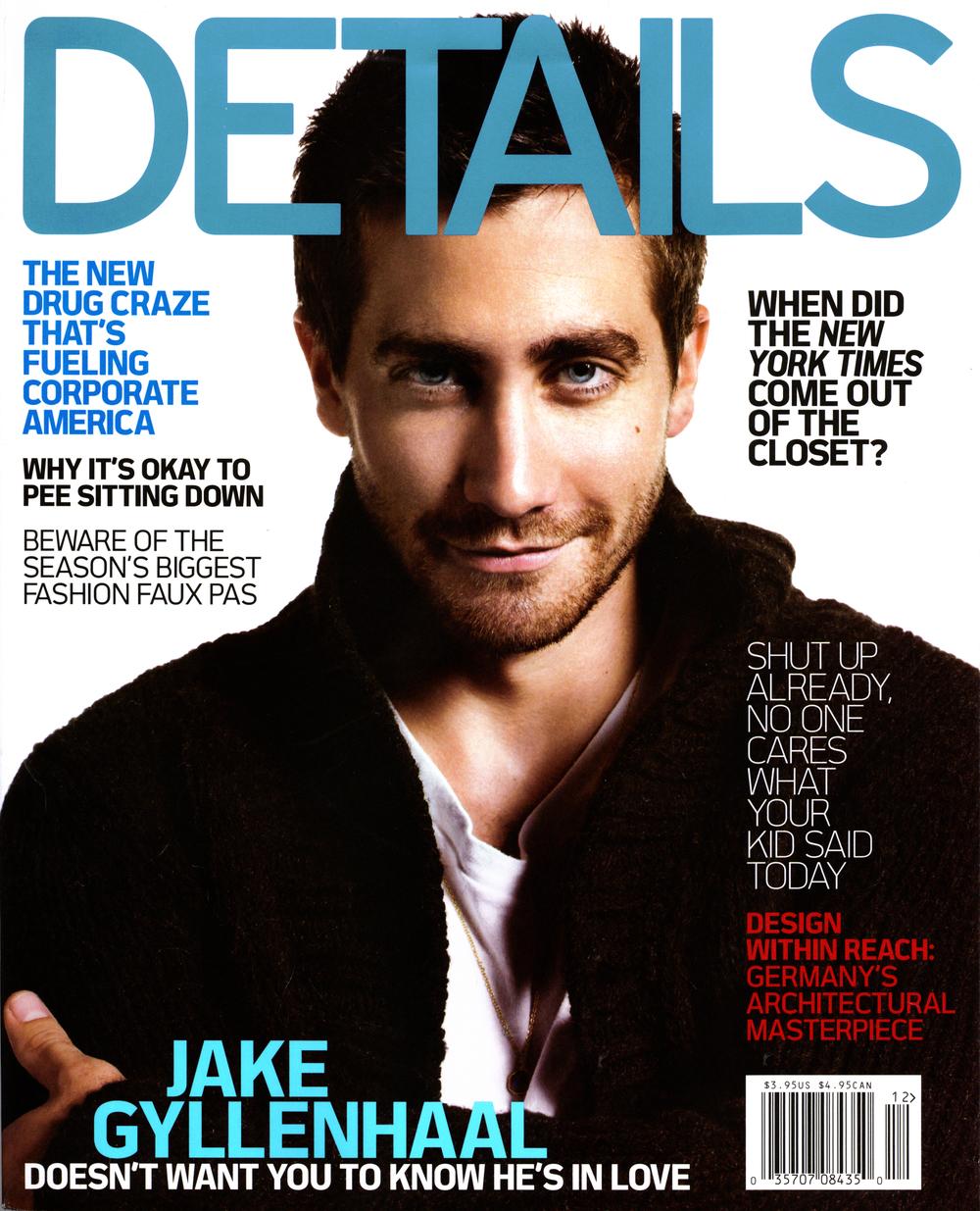 Details Magazine December 2005