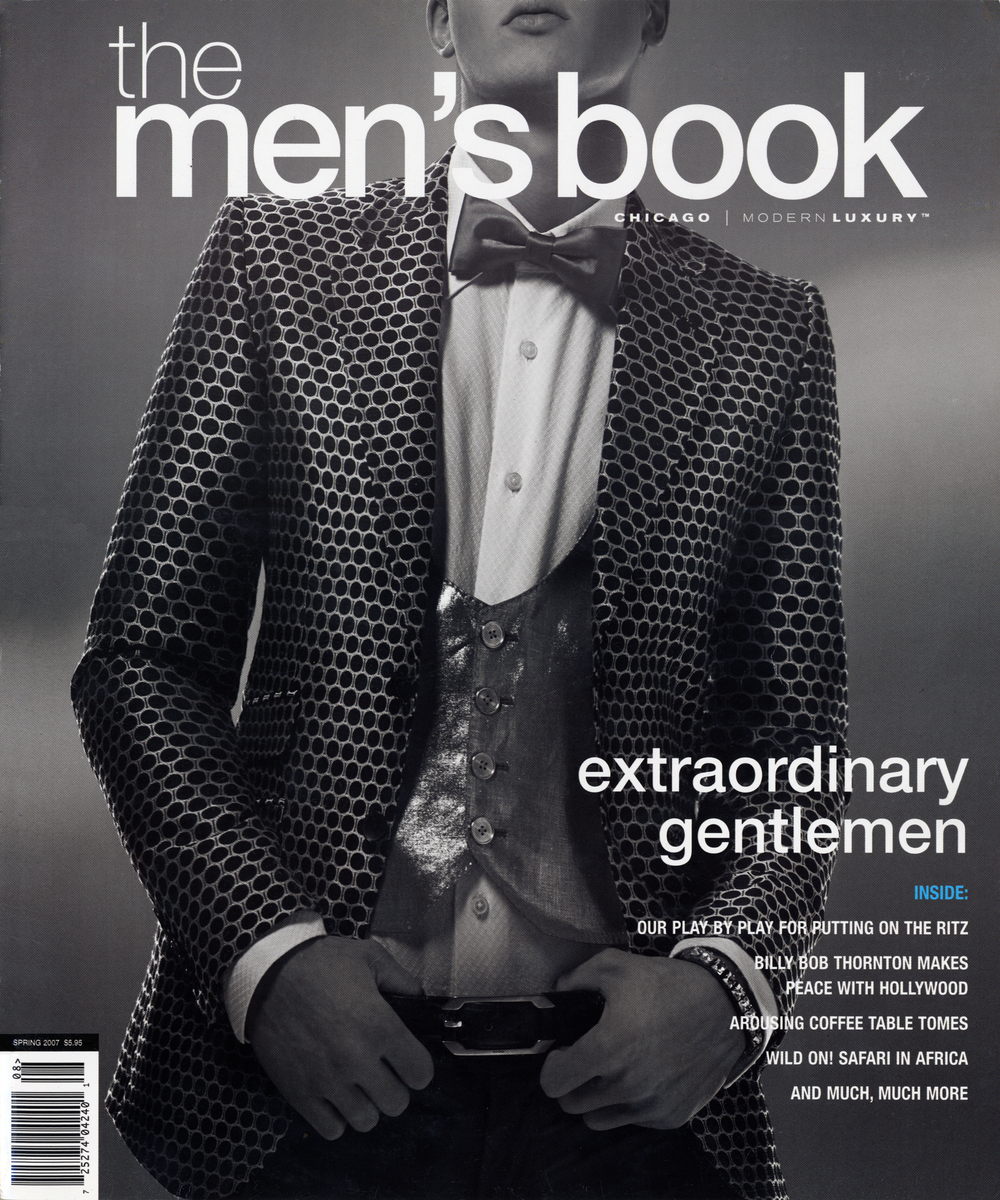 Modern Luxury Men's Book Spring 2007