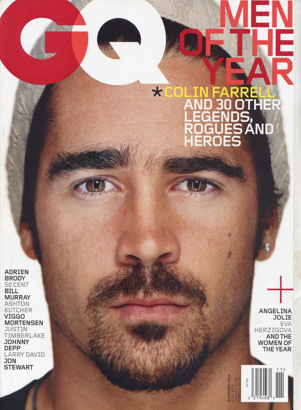 GQ Magazine November 2003
