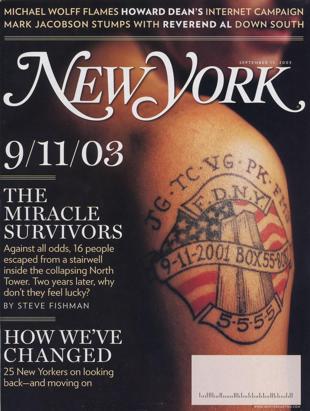 New York Magazine September 2003