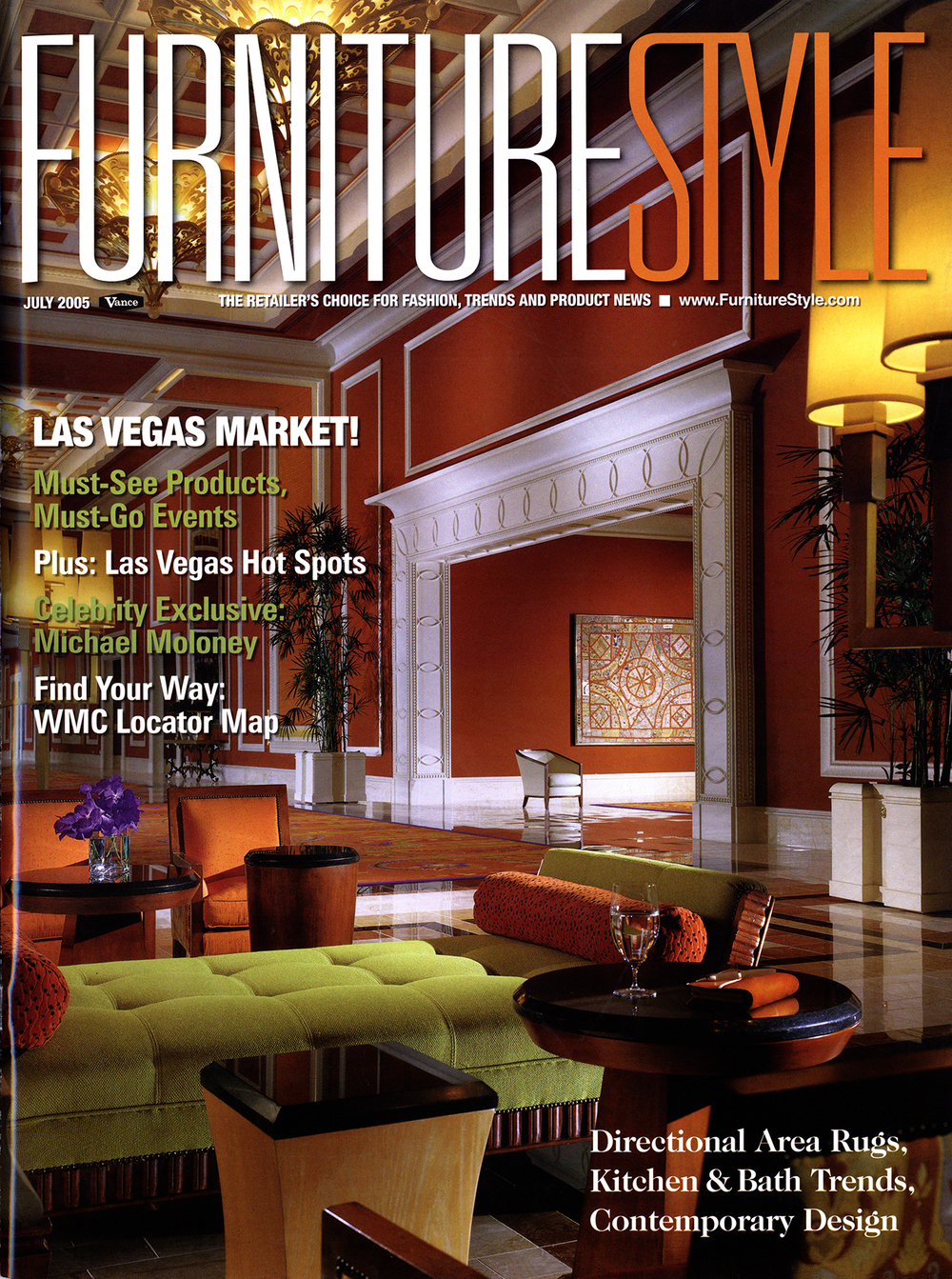 Furniture Style Magazine July 2005