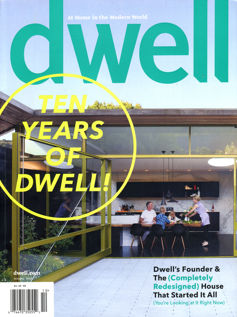 Dwell Magazine October 2010