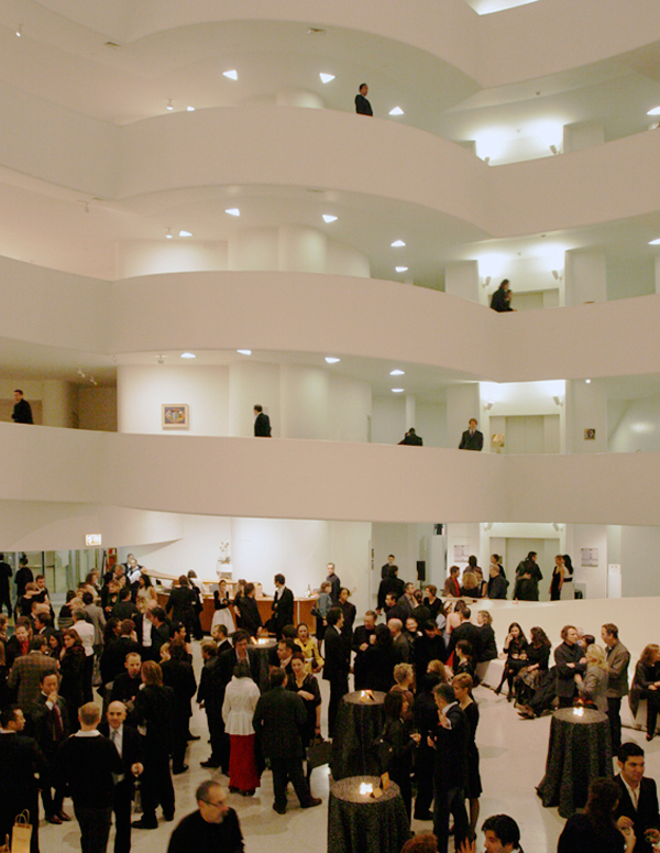 Ceremony at the Solomon R. Guggenheim Museum