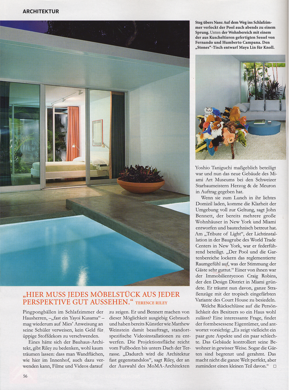 Architectural Digest Germany May 2007 Page 6