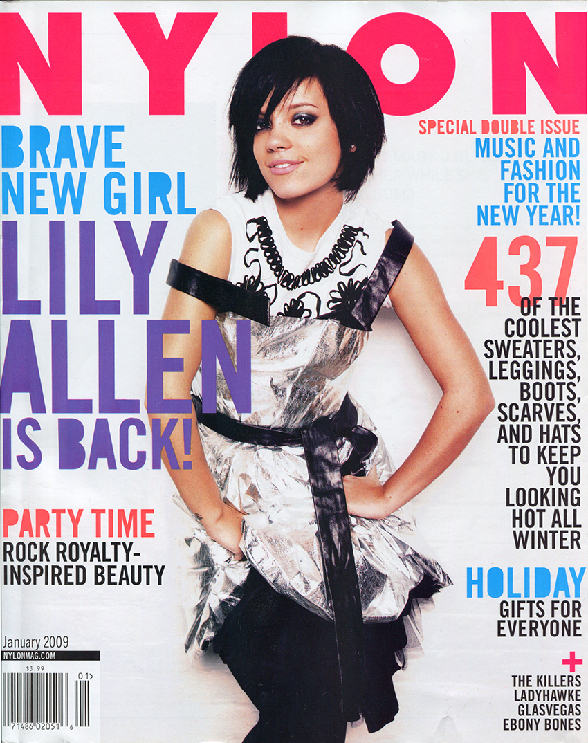 Nylon Magazine January 2009