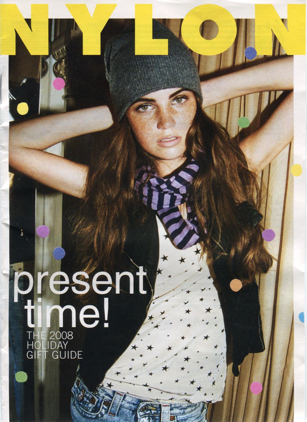 Nylon Magazine gift guide for 2009.