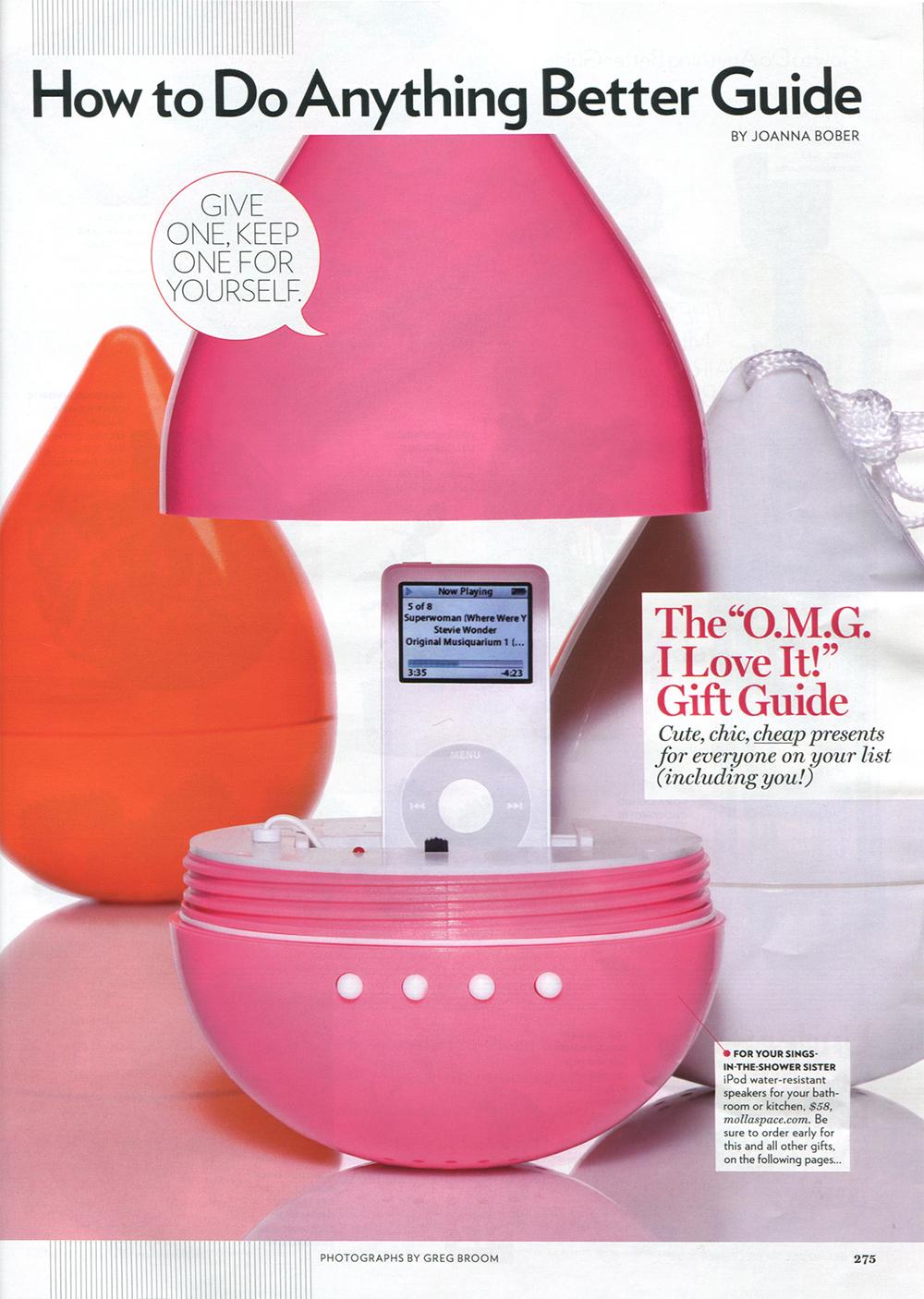 Glamour Magazine December 2008