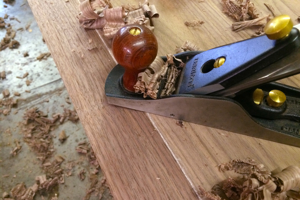 Piet Houtenbos Custom Furniture Hand Plane