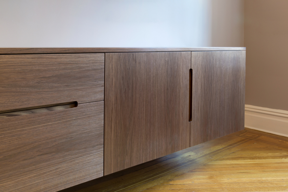 Butler Credenza in Walnut Designed by Piet Houtenbos