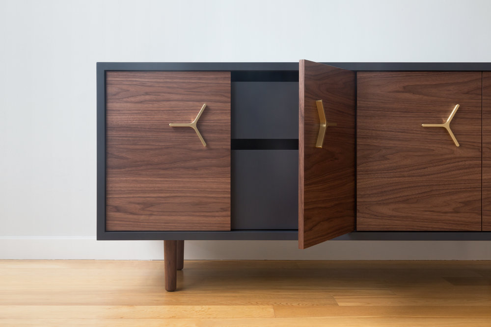 NEW CABINETS: Flux Lacquered Credenza