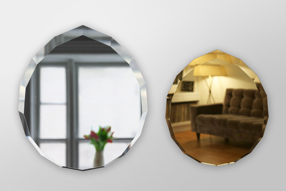 Diamond Mirrors - Glass, Silver, MagneticsNot available for discount, they're hard to make!
