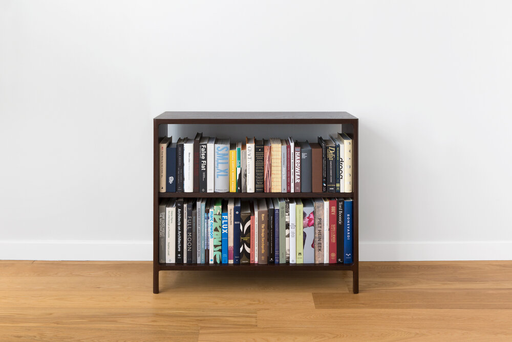 Asa Bookcase in Solid Wenge