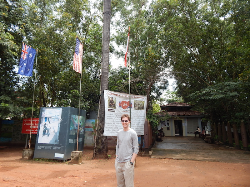 During the war soldiers placed millions of landlines throughout Cambodia, most of which were never detonated or removed and remain waiting for unsuspecting civilians (these days, usually remote villagers and farmers). CNN has sponsored a museum dedicated to the awareness of landmines/other unexploded ordinance and active removal campaigns