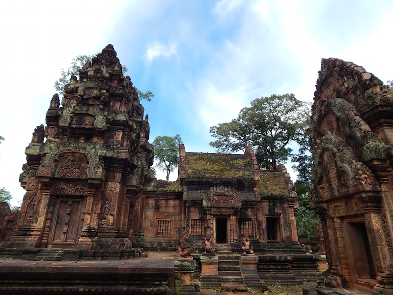 This was probably our favorite of Ankor's temples, so here are a few more pictures of this incredibly detailed and beautiful structure