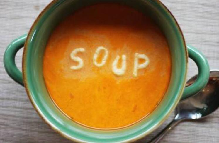 Soup Sunday this Sunday  Yummy SOUP -$2 per cup All proceeds go towards supporting our School Chaplains.So don't rush off, stay and hang, have soup, meet some peeps.