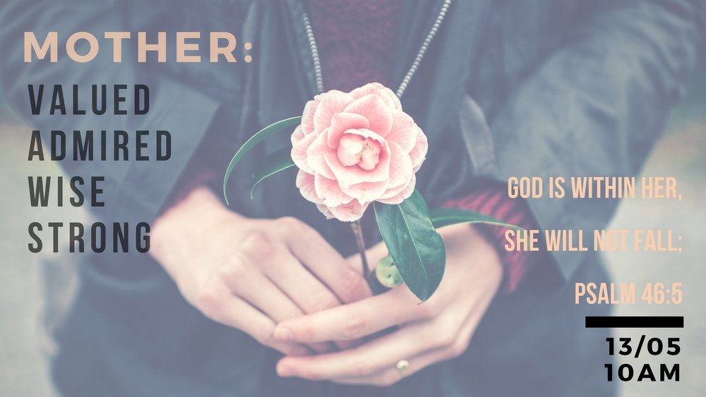 A mother is not defined by the number of children you can see but by the love she holds in our heart. So whether you are a mother in the natural or a mother figure join us this Sunday 10am to hear from the hearts of some fantastic women as we celebrate you.