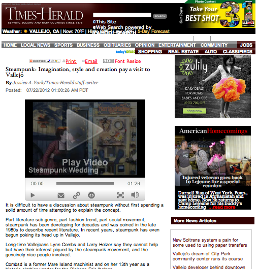 2012-07-22 Vallejo Times Herald-Steampunk