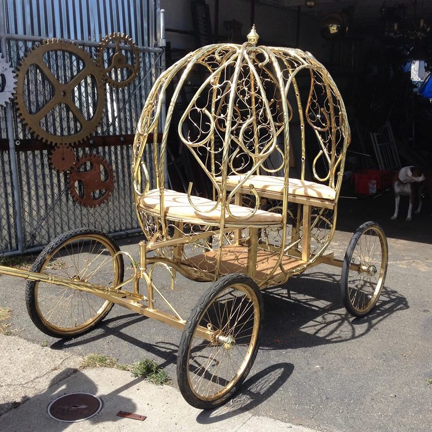 2015 Cinderella's Carriage (commission for children's ballet troupe)