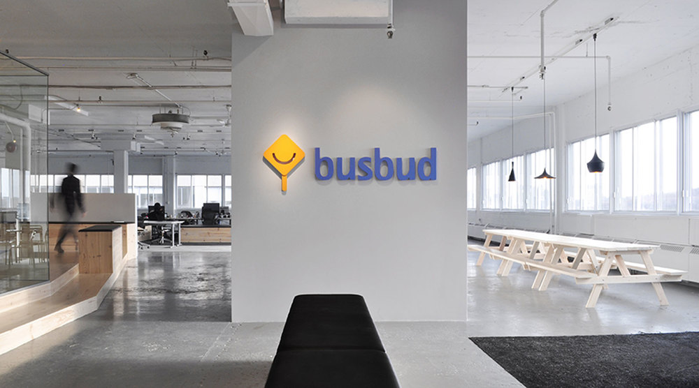 BUSBUD / OFFICE / PHOTOS BY ANDREW BUDYK