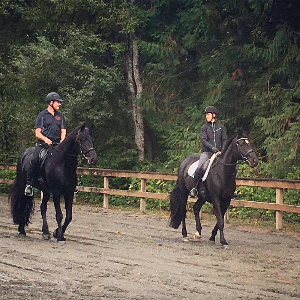Schooling at the Bainbridge Island Saddle Club
