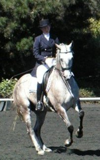 Cristiano and Emily, Midsummer's Night Dressage, Watsonville, CA 2007 Photo: Jonna Lorenz