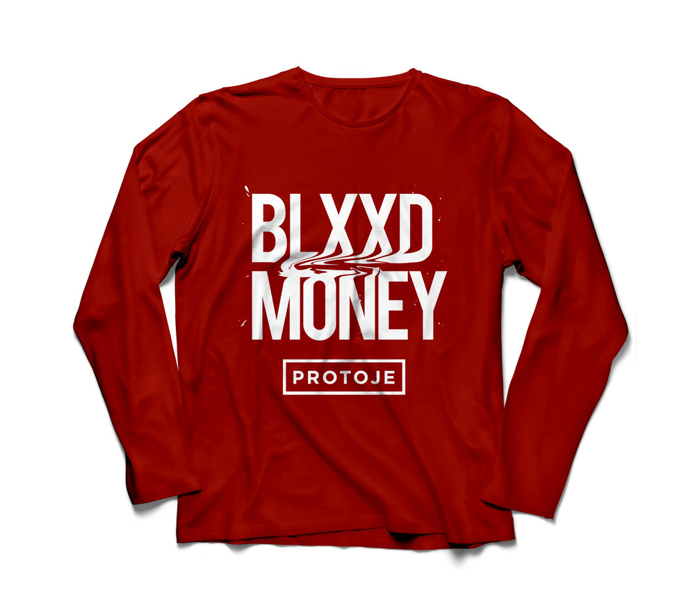 BLXXD MONEY LONG SLEEVE - $35