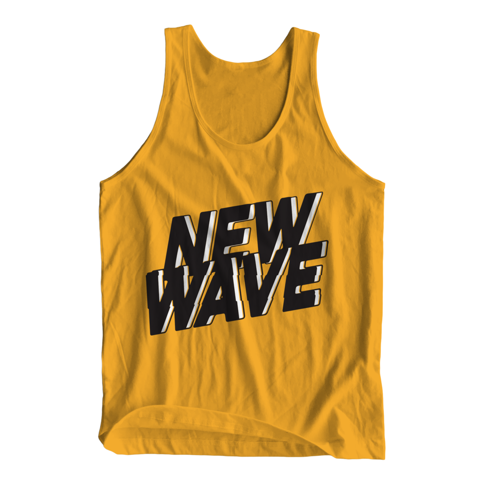 NEW WAVE TANK (YELLOW) - $25