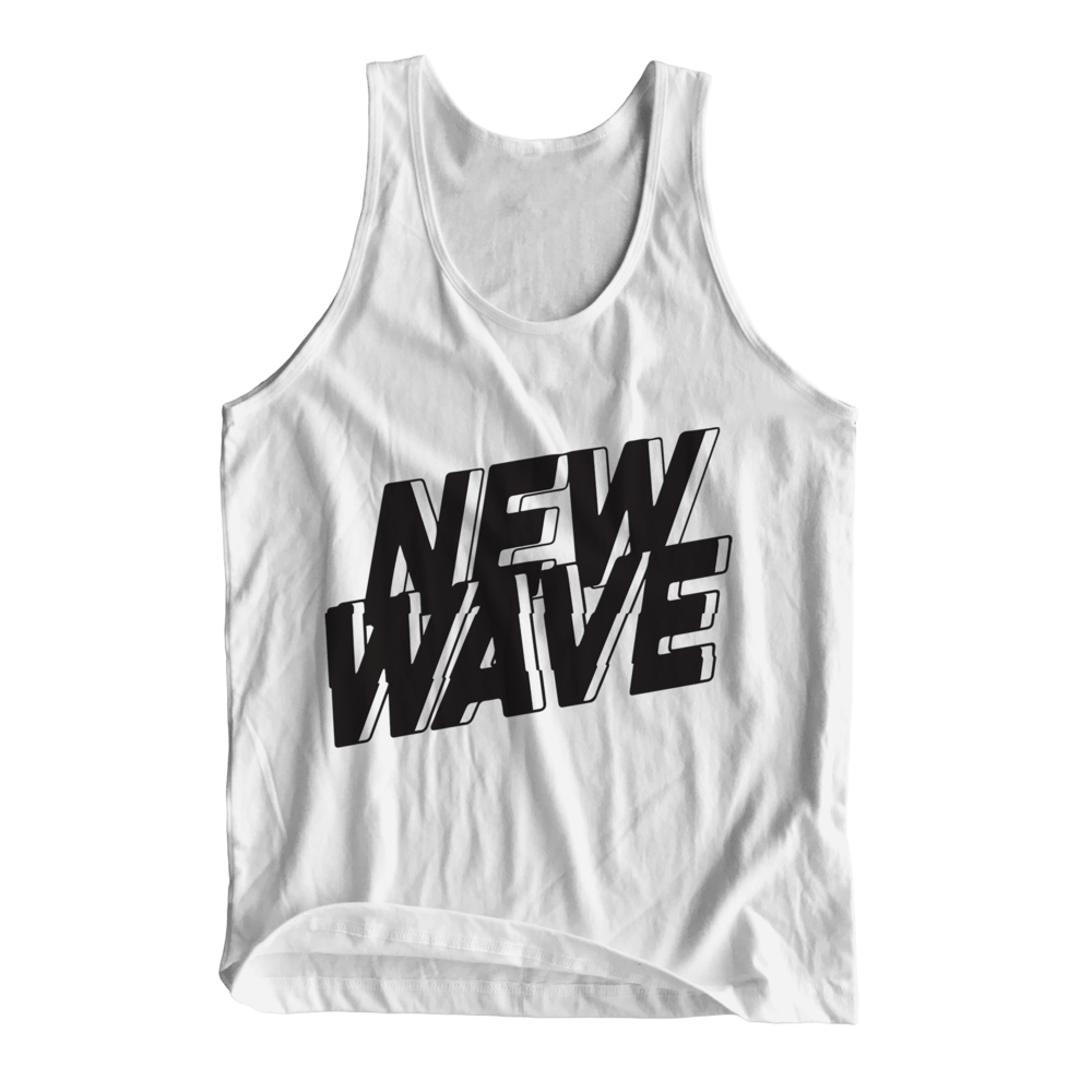 NEW WAVE TANK (WHITE) - $25