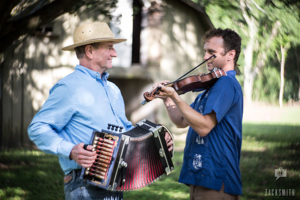 "Tommy Michot and son, Louis, play ""Valse de Meche Perdu"" (Lost Bayou Waltz) ©ZackSmith2015"