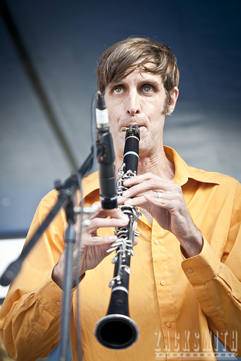 Ben Schenck of the Panorama Jazz Band! ©2012 ZSP