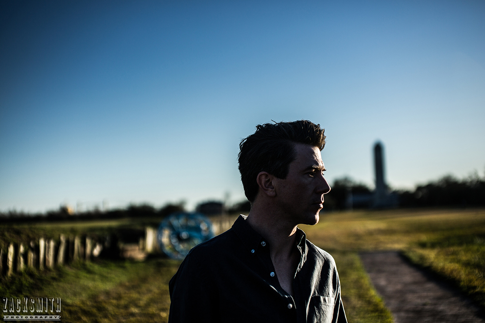 Luke Winslow King, 2016. Shot on Location at the Chalmette Battlefield, Chalmette, LA.