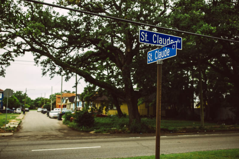 Zack Smith Photography New Orleans St. Claude Urban Street Trees Suburbs