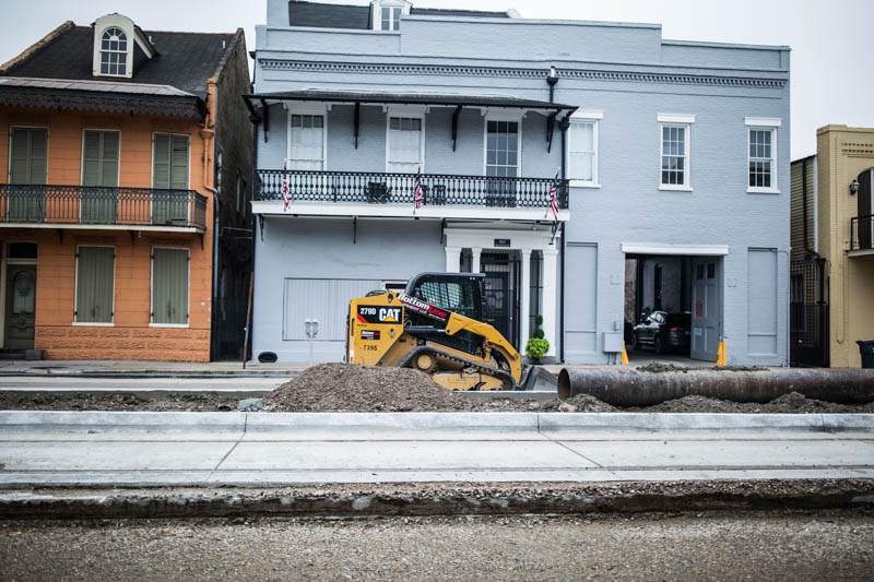 Zack Smith Photography New Orleans Cat Construction equipment