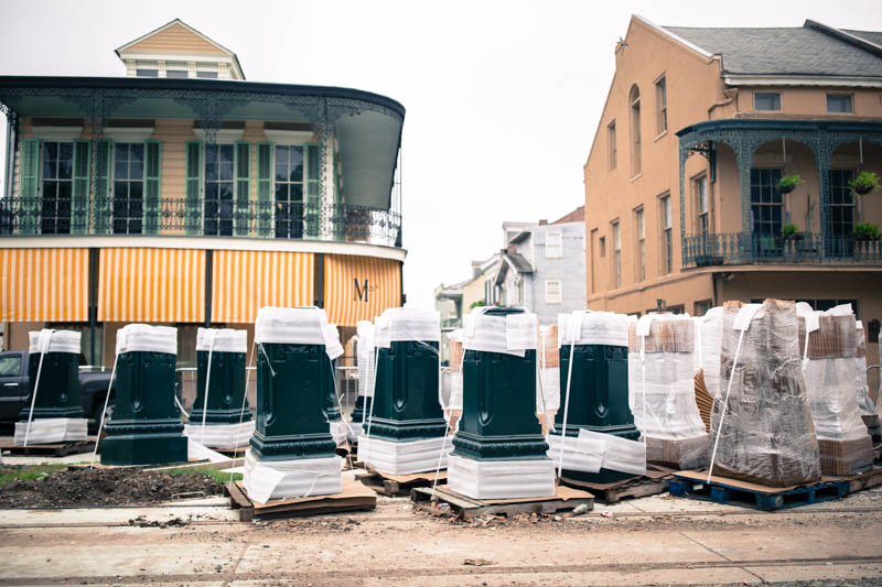 Zack Smith Photography New Orleans construction st. claude to rampart