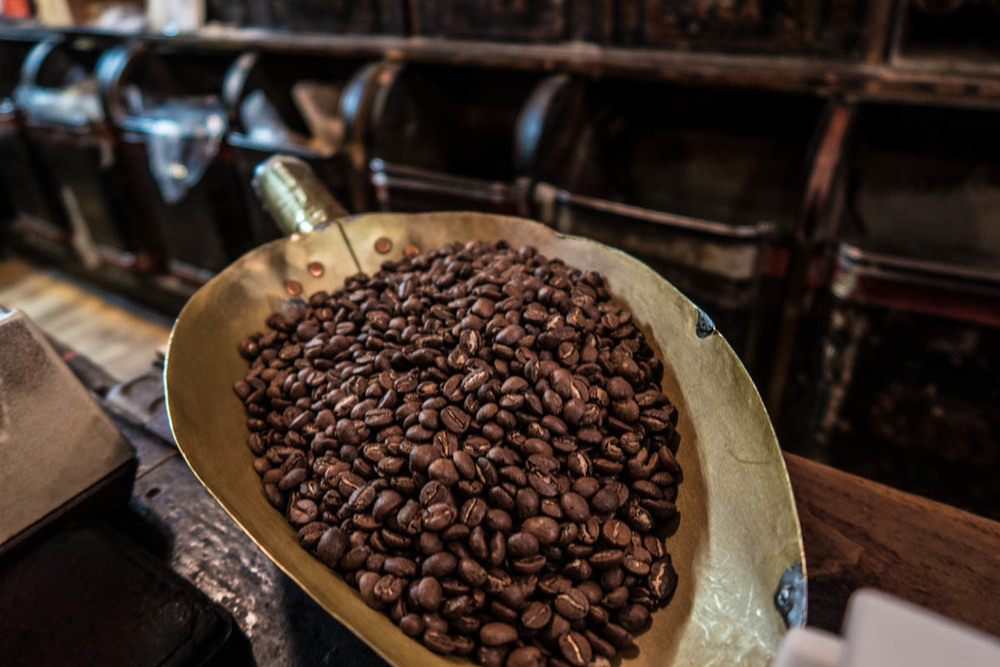 Zack Smith Photography New York City Coffee Beans McNulty's
