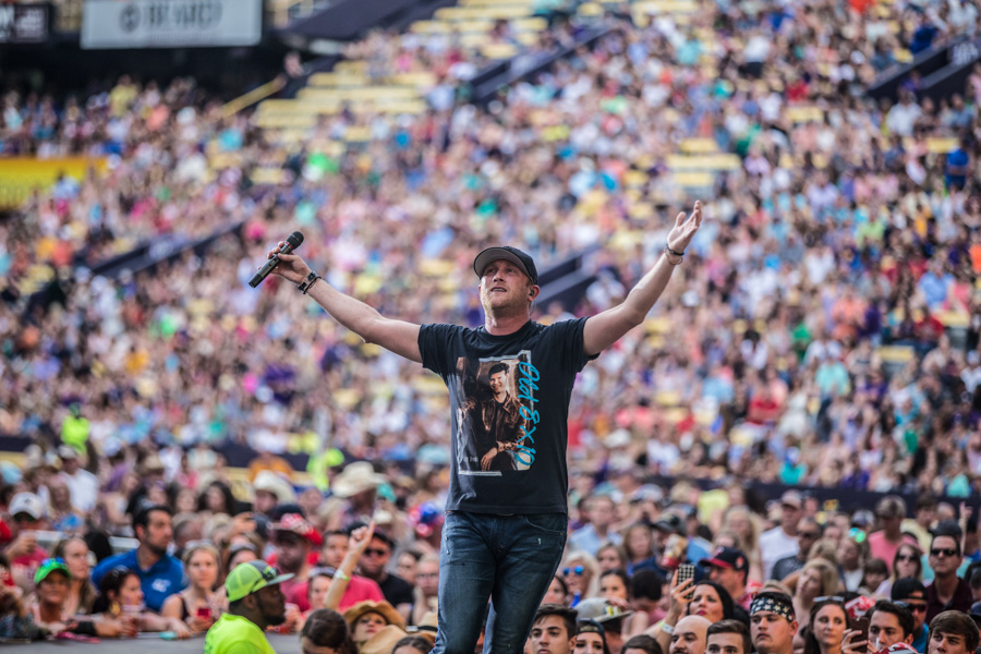 Zack Smith Photography Baton Rouge Bayou Country Superfest 2016 Singer Performer Crowds People Fans