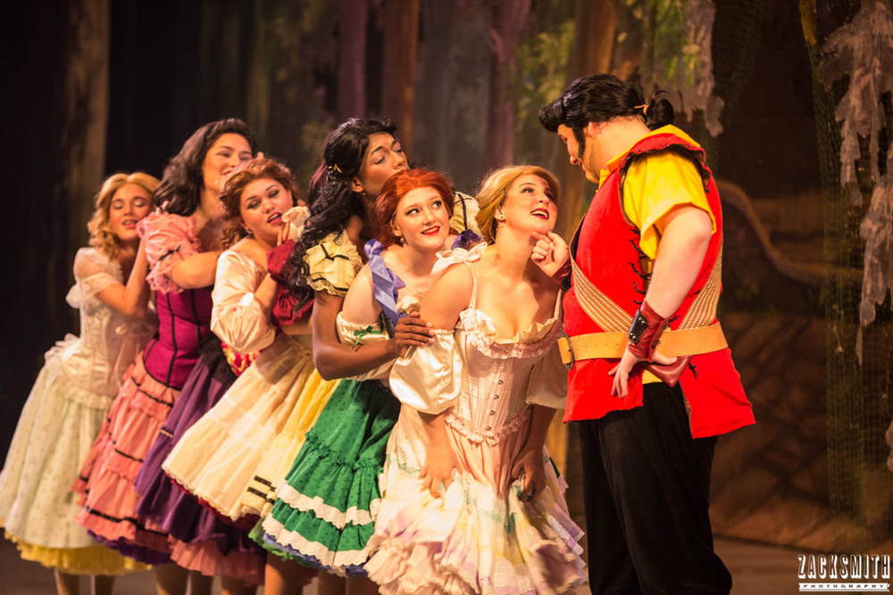Beauty and the Beast The Performing Arts Academy Talent Performance Photography Zack Smith Photographer Chalmette Gaston Silly Girls Funny Theater musical love
