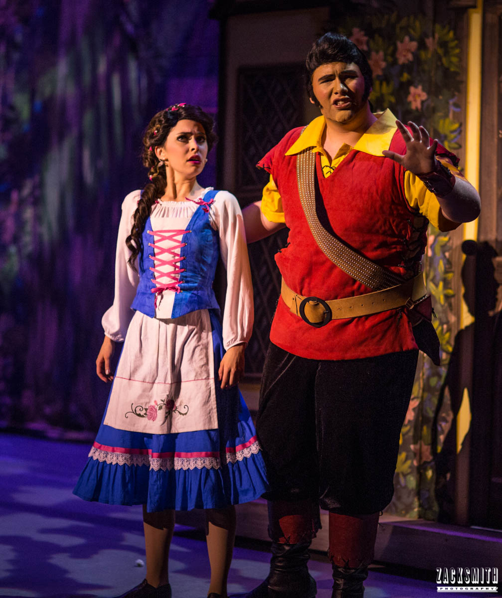 Beauty and the Beast The Performing Arts Academy Talent Performance Photography Zack Smith Photographer Chalmette Gaston and Belle Me Musical